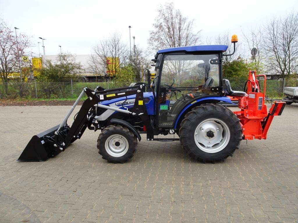 lovol 354 35ps m354 frontlader kabine traktor schlepper allrad