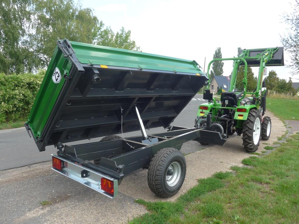Geliebte Dreiseitenkipper für Traktor @KK_51